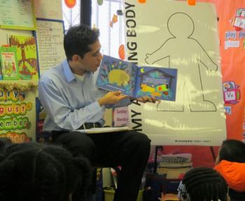 Eli In Classroom